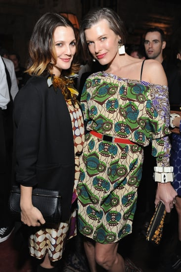 Marni for H&M Party in Los Angeles With Sofia Coppola, Drew Barrymore, Jessica Chastain