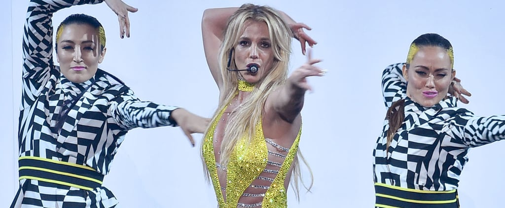 Britney Spears Didn't Need a Python to Wow During Her VMAs Performance This Year