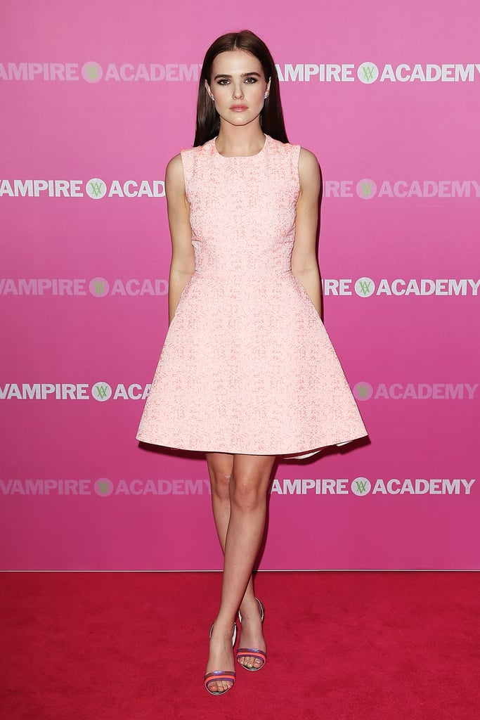 Zoey Deutch at the Vampire Academy Premiere