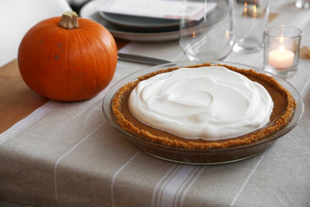 Easy Pumpkin Pie With Graham Cracker Crust