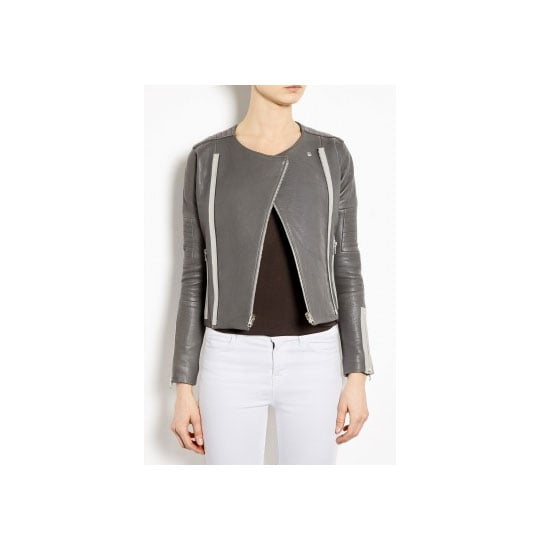 I've had my eye on a few grey leather jackets for a while now, but my heart kind of skips a beat with this one. Could be the price tag, but I like to think it's the clean lines and structure. — Alison, beauty and health & fitness editor Jacket, approx $1,336, J Brand at My Wardrobe