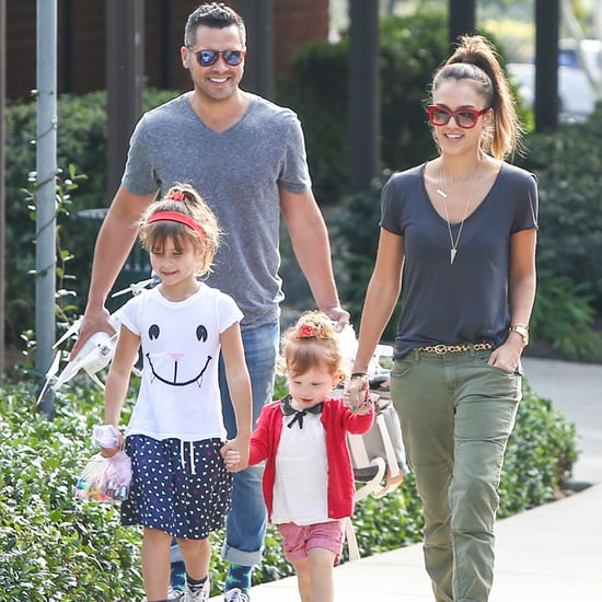 Jessica Alba's Family Park Date January 2014 | Pictures