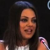 Mila Kunis Speaks Russian at Press Conference (Video)