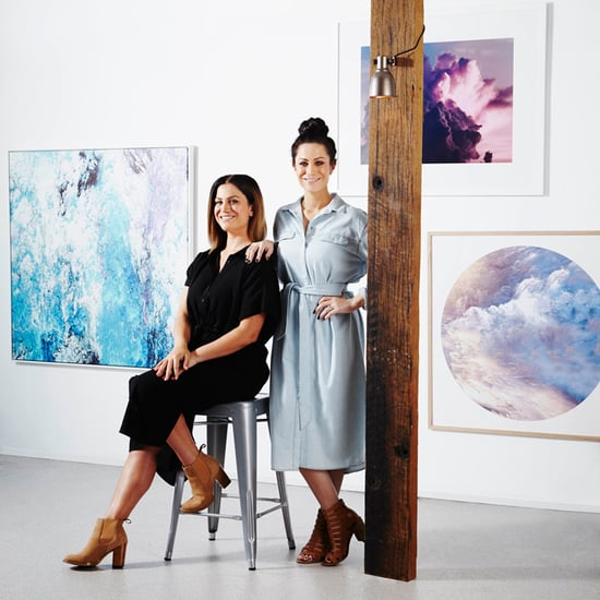 The Block's Alisa and Lysandra Design Art For the Home