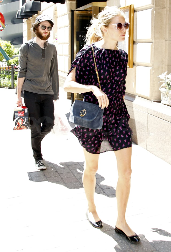 Sienna Miller and Tom Sturridge enjoyed the warm Summer weather.