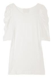 Phillip Lim Ruched Sleeve Top