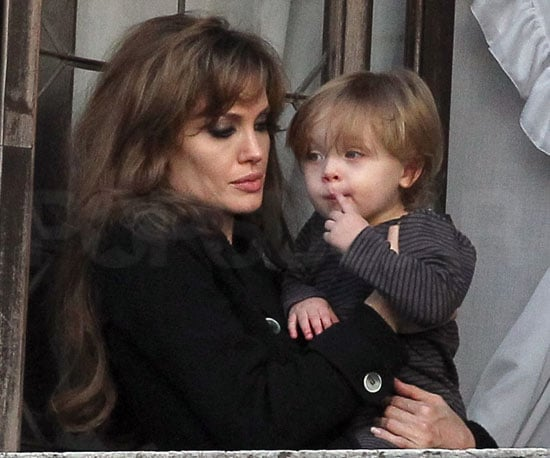 Slide Picture of Angelina Jolie and Knox Jolie-Pitt in Venice