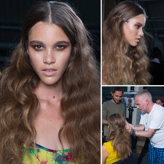 How to Copy 90s Grunge Hair at House of Holland Spring 2013