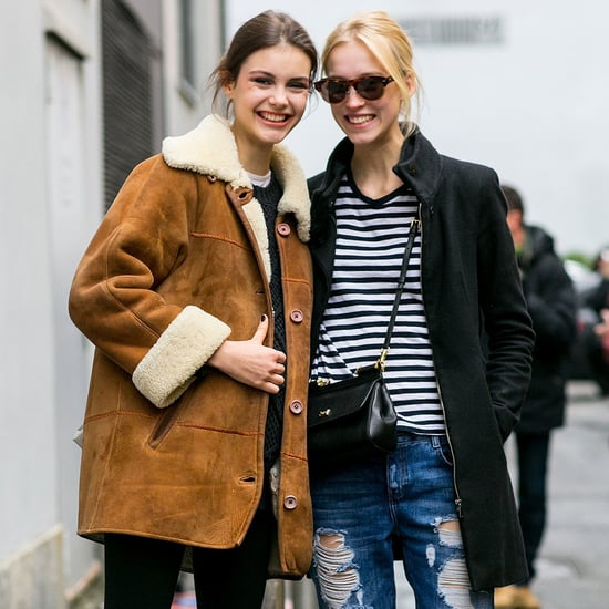 Model Street Style Fashion Week Fall 2015