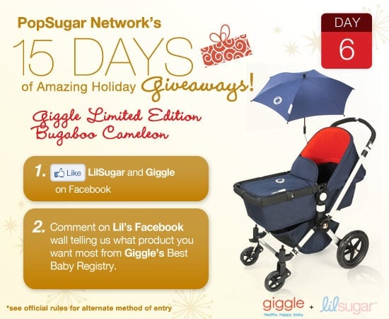 Win an Exclusive Bugaboo Cameleon From Giggle!