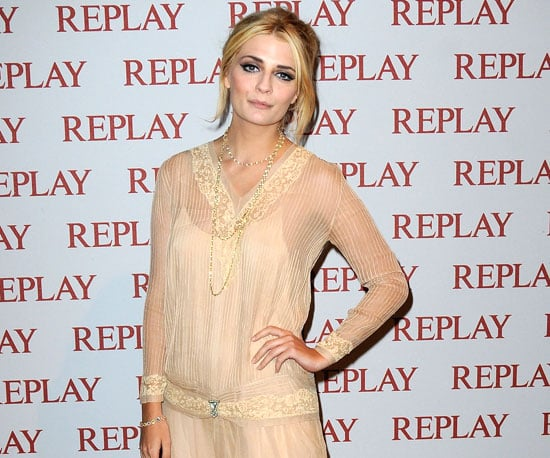 Slide Picture of Mischa Barton at a Replay Party in Cannes
