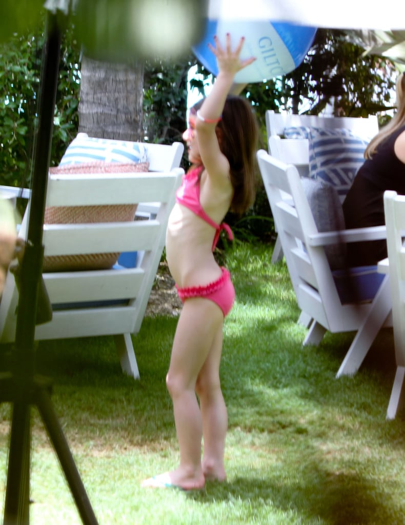Shirtless Tom Cruise Rings in 49 With Bikini-Clad Katie Holmes and Their Kids!