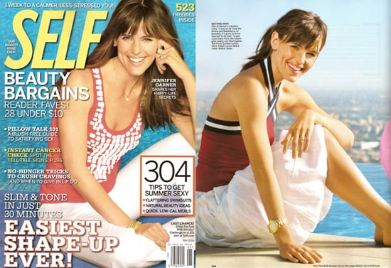 Jennifer Garner For Self Magazine