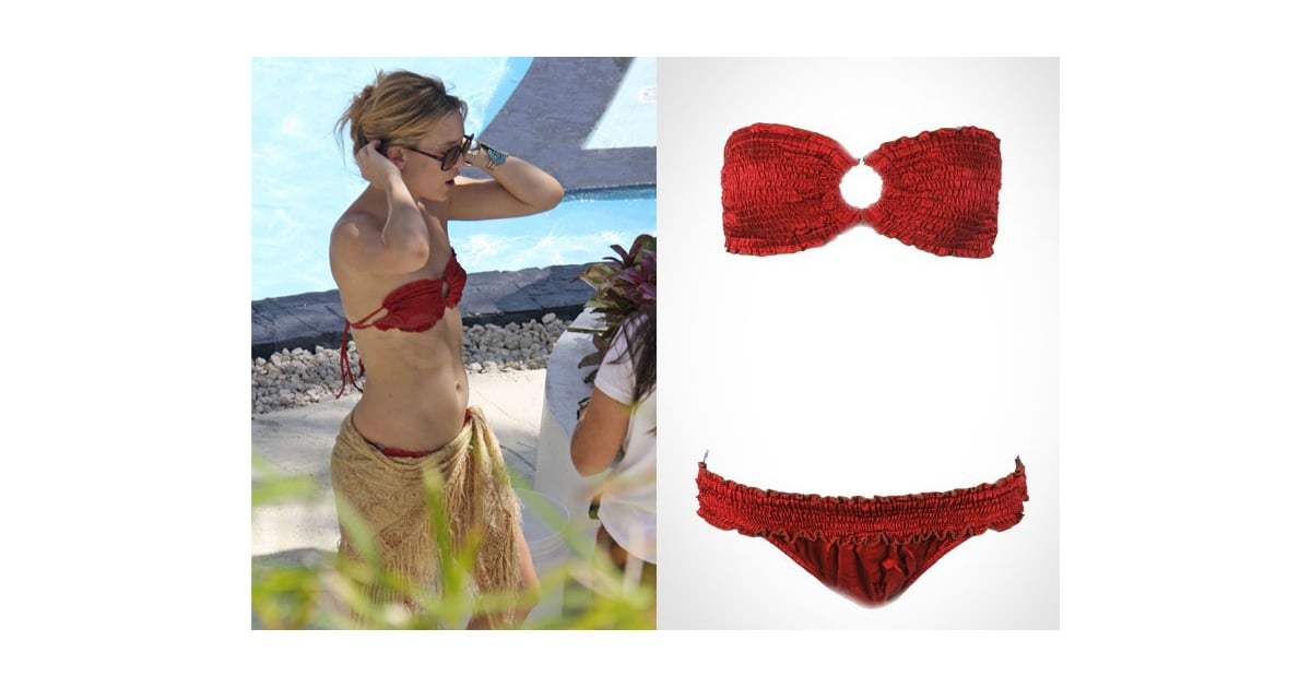 and soul bikini in red