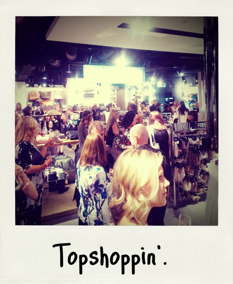 More Topshop Sydney goodness via the Apict app on the Nokia Lumia 900. Been for a shop yet?