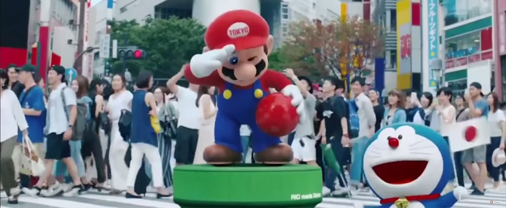 Seeing Tokyo's Prime Minister Pop Up as Mario Will Get You So Hyped For the 2020 Olympics