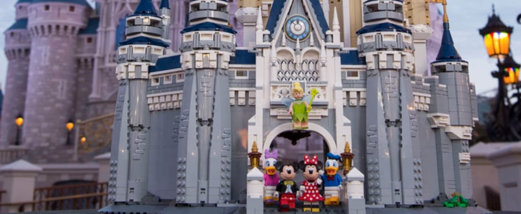 This Lego Version of Cinderella's Castle Will Make You Feel Like You're Actually at Disney World
