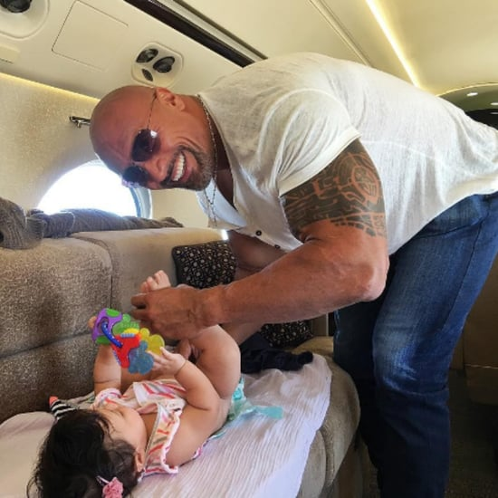 The Rock Instagram Changing Dirty Diaper