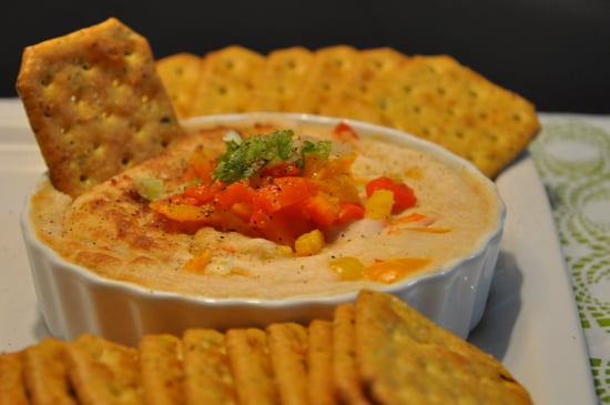 Warm White Bean Dip With Roasted Bell Peppers
