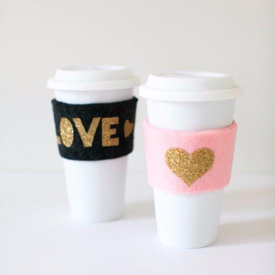 Felt Coffee Cup Cozies
