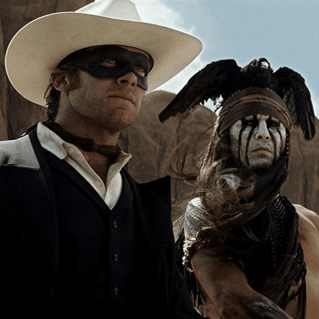 The Lone Ranger Movie Trailer Starring Johnny Depp and Armie Hammer
