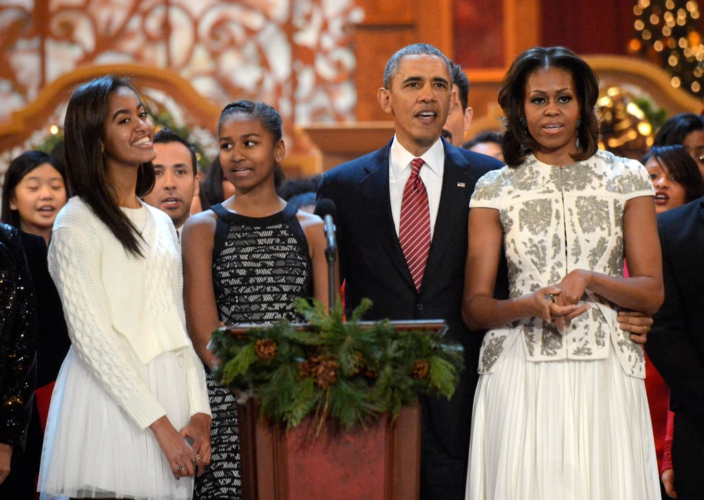 """In an interview with Out magazine in 2015, Barack talked about being a proud father:  """"To Malia and Sasha and their friends, discrimination in any form against anyone doesn't make sense. As president, and as a dad, that makes me proud."""""""