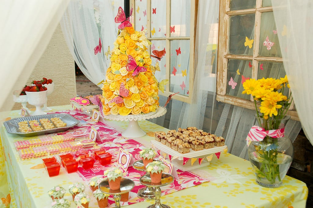Butterfly Garden Birthday Party