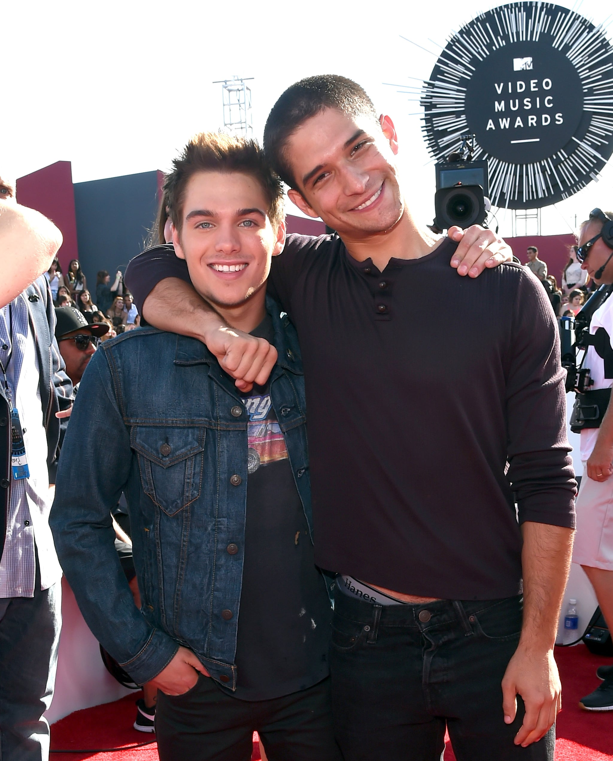 Dylan Sprayberry and Tyler Posey