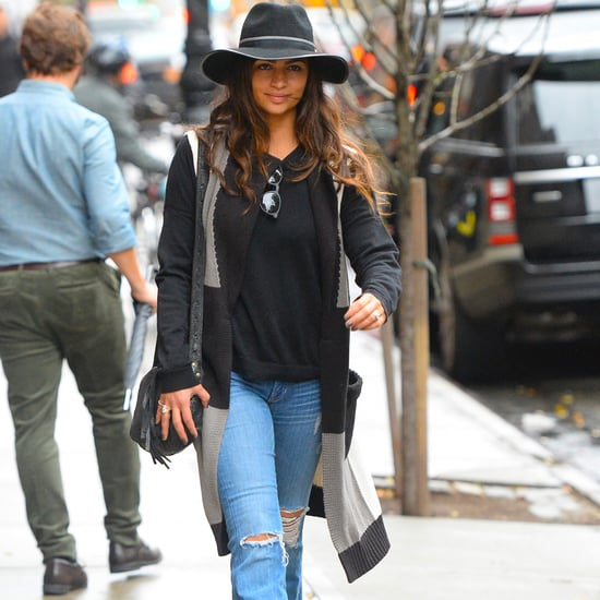 Camila Alves NYC Street Style November 2015 Pictures