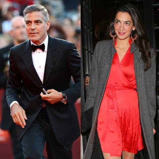 George Clooney Engagement Details   Video