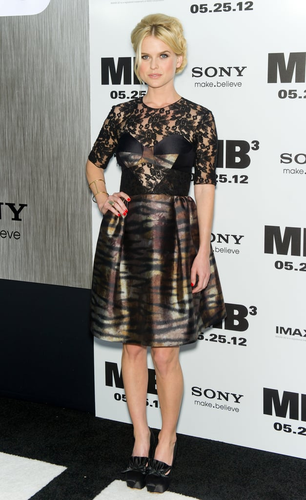 Alice Eve looked stunning at the Men in Black III premiere in NYC.