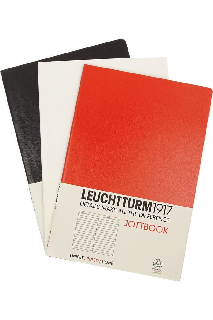 Writer friends? LEUCHTTURM1917Jottbook's set of three notebooks ($23) features a chic faux finish cover for a super polished look. For guaranteed holiday delivery, make sure to choose the express shipping option (2-3 working days) and order by Dec. 19.