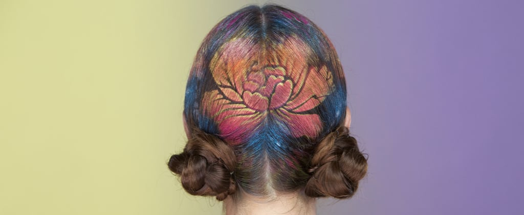 Prepare to be Obsessed with Hair Stenciling