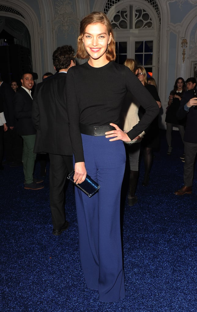 Arizona Muse at the Warner Music Group's post-Brit Awards party in London.