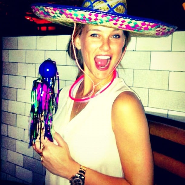 Bar Refaeli kicked off her Summer with a fiesta in May. Olé!