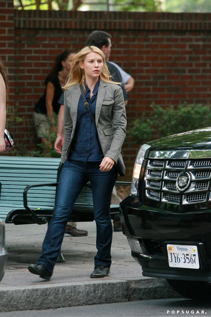 Claire Danes Brings Her Little Man to the Set of Homeland