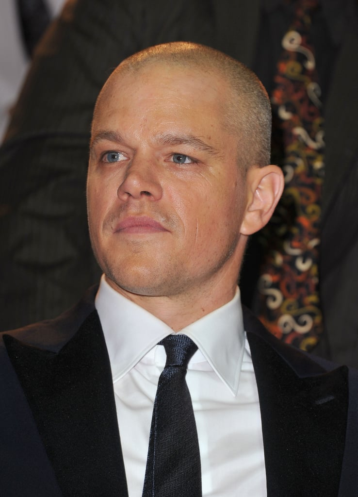 Matt Damon at the Venice premiere of Contagion.