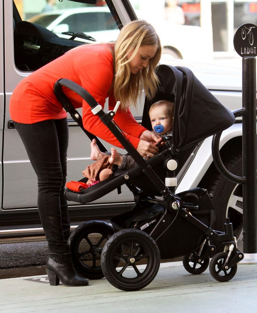 Hilary Duff and Luca Comrie had an outing in Studio City.