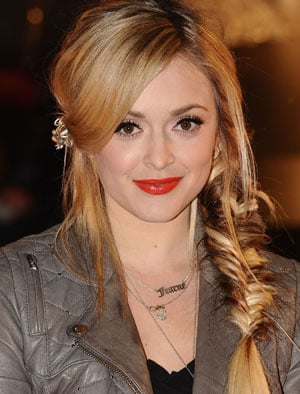 Fearne Cotton Hair and Makeup at the Brit Awards