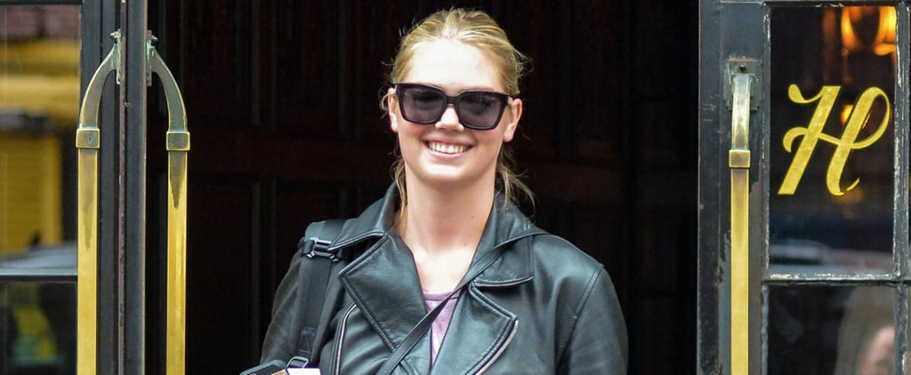 Kate Upton Shows Off Her Stunning Engagement Ring While Walking Her Dog in NYC