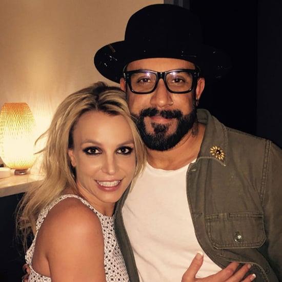 AJ McLean Talks About Britney Spears April 2016