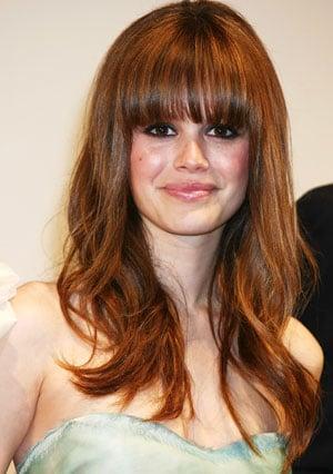 Rachel Bilson gets bangs: new haircut