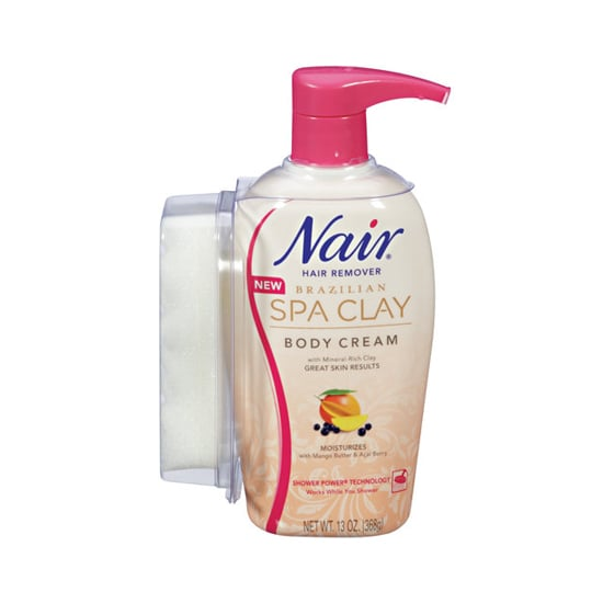 Some people are wary of depilatory creams due to the stench, but Nair's Brazilian Spa Clay Hair Removal Body Cream ($12) disguises the strong smell with mango and acai berry. Plus, it stays on while you shower, meaning it works its magic while you shampoo and condition.