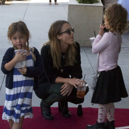 Jessica Alba and Honor Warren on Play Date | Pictures