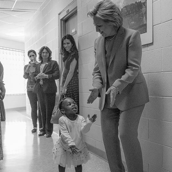 Hillary Clinton Instagram About Little Girls Being President