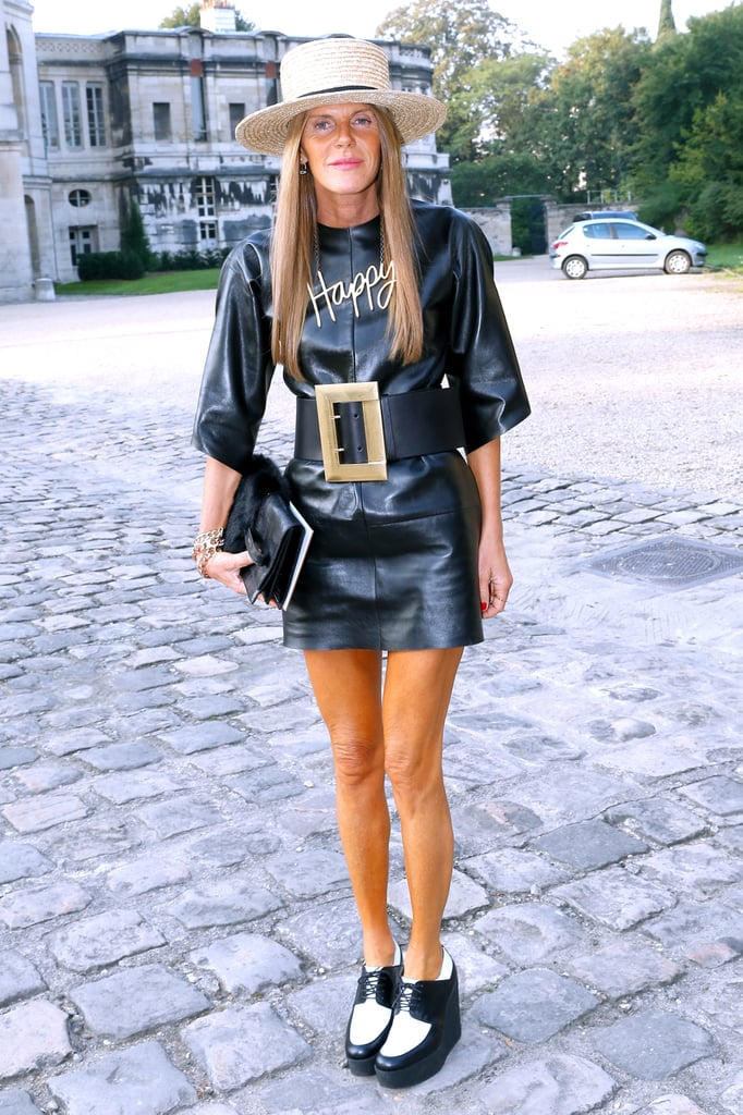 Anna Dello Russo stepped out for Balenciaga at the Paris Observatory.