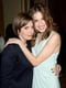 Girls costars Allison Williams and Lena Dunham embraced.