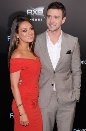 Justin Timberlake and Mila Kunis Friends With Benefits Junket