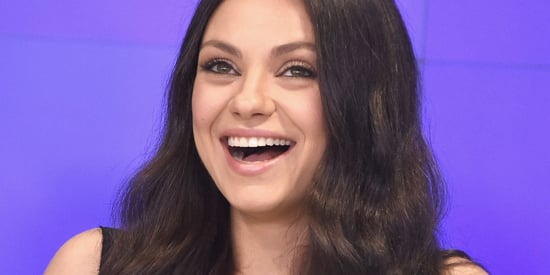 Mila Kunis Is A '70s Goddess Again In This Cozy Throwback Shirtdress
