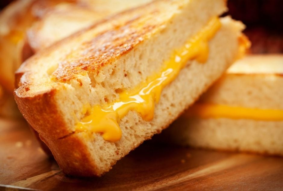 Classic Grilled Cheese on Sourdough